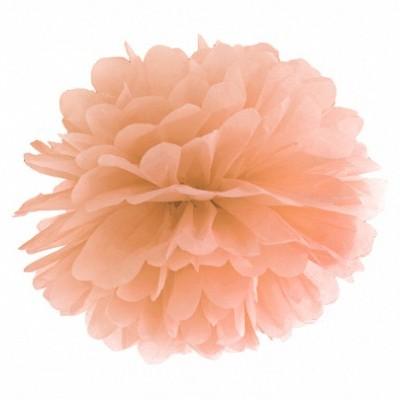 Pompom 40cm Coral