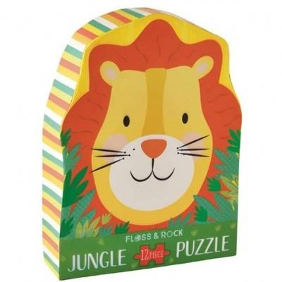 Puzzle Leão 12 peças