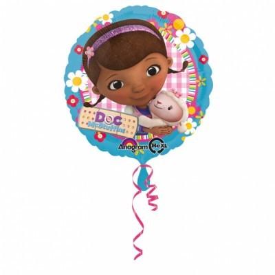 Balão foil dra brinquedos