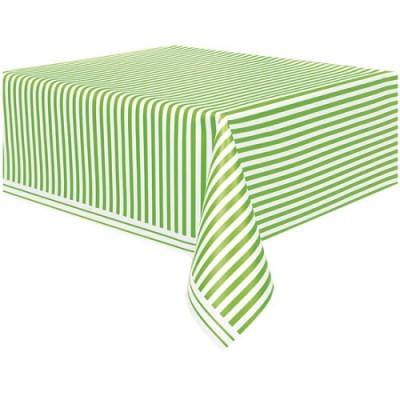Toalha riscas verde lima