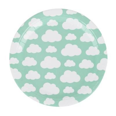 8 Pratos nuvens