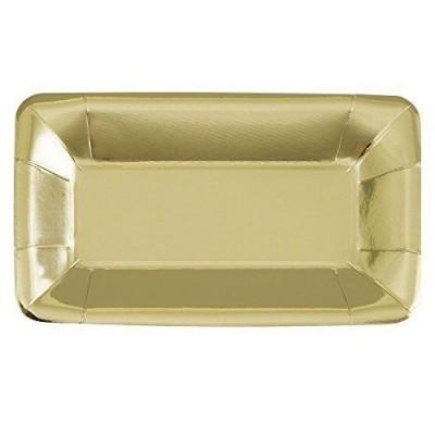 travessas ouro foil
