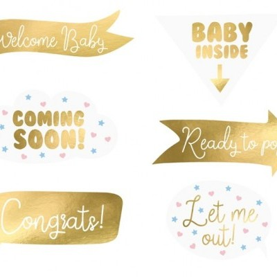 Photobooths baby shower