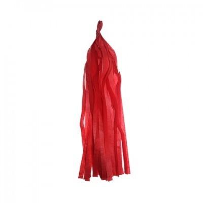 Tassel vermelho