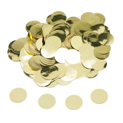 15g confetti foil dourado