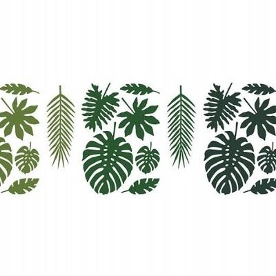 Folhas tropicais x21