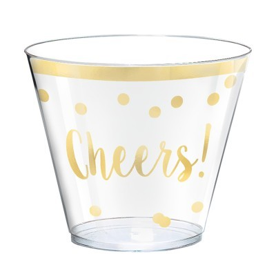 30 taças acrílico cheers