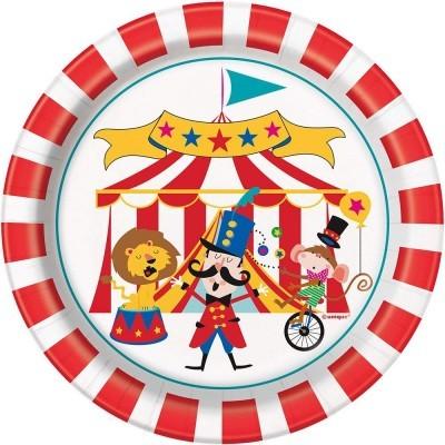8 Pratos Circo