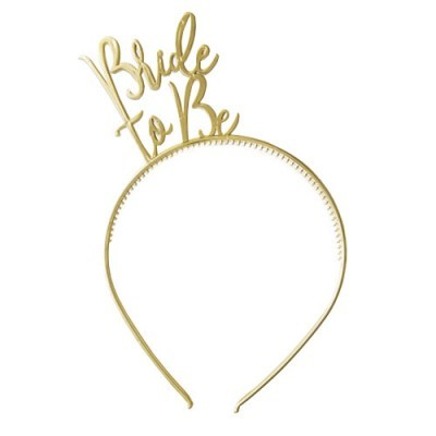 Bandolete Bride to be ouro