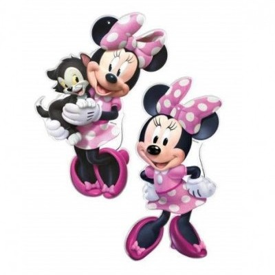 Set figuras Minnie Rosa