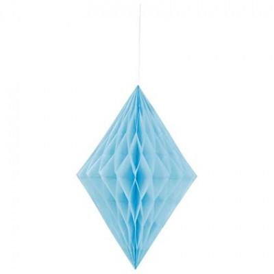 1x Diamante de papel Azul bebé