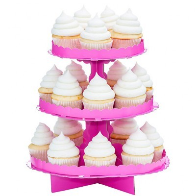 Stand Cupcakes Rosa