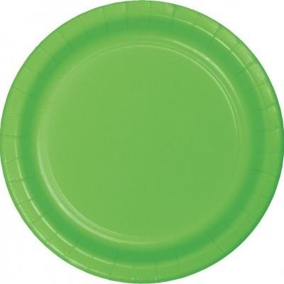 8 Pratos Verde lima