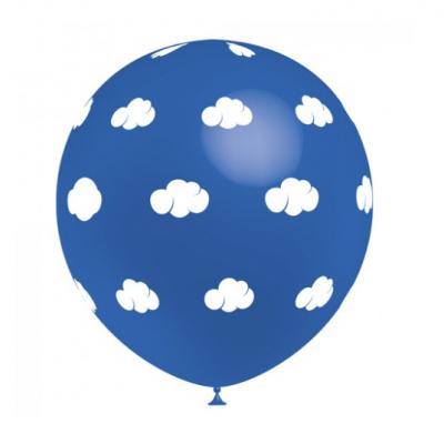 Balão nuvens Azul
