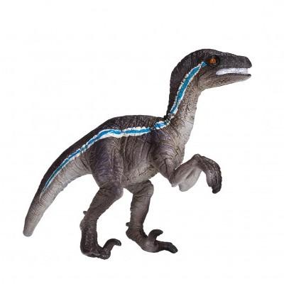 Dinossauro Velociraptor em pé - M