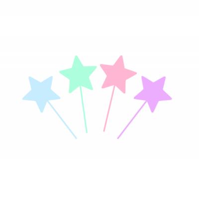 10 Topos Cupcake estrelas pastel