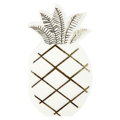 16 Guardanapos ananás
