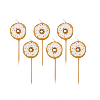 6 Velas Donut