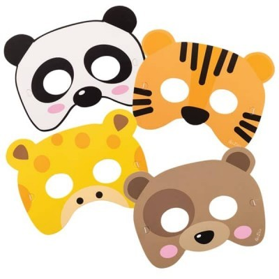 4 Máscaras animais
