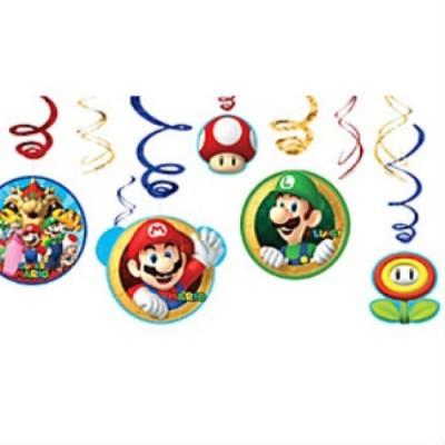 Kit decoração Super Mário