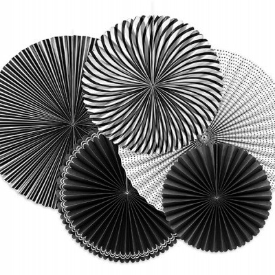 Rosetas mix preto e branco
