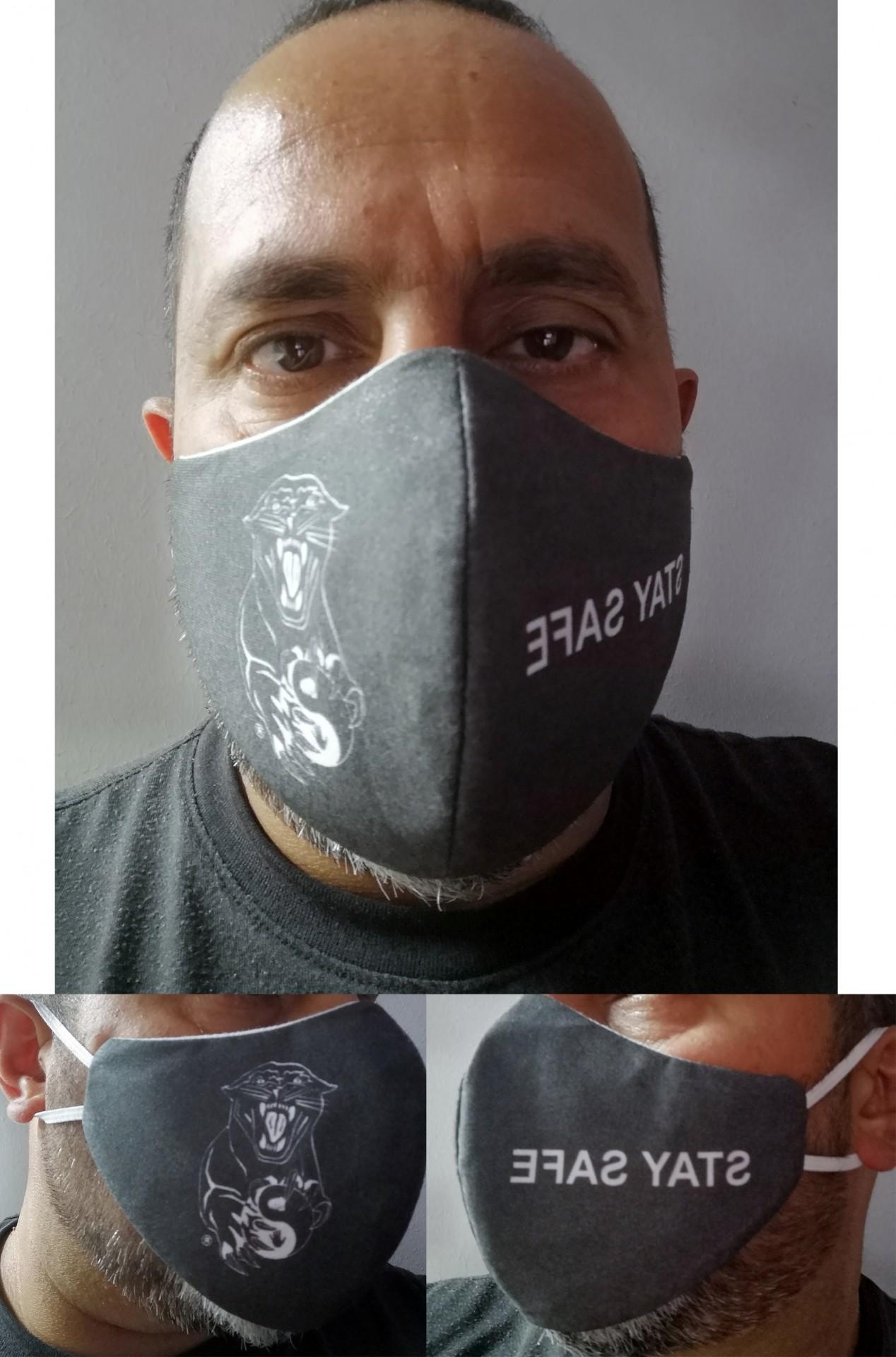 Mascaras de proteção simples ACDS Black