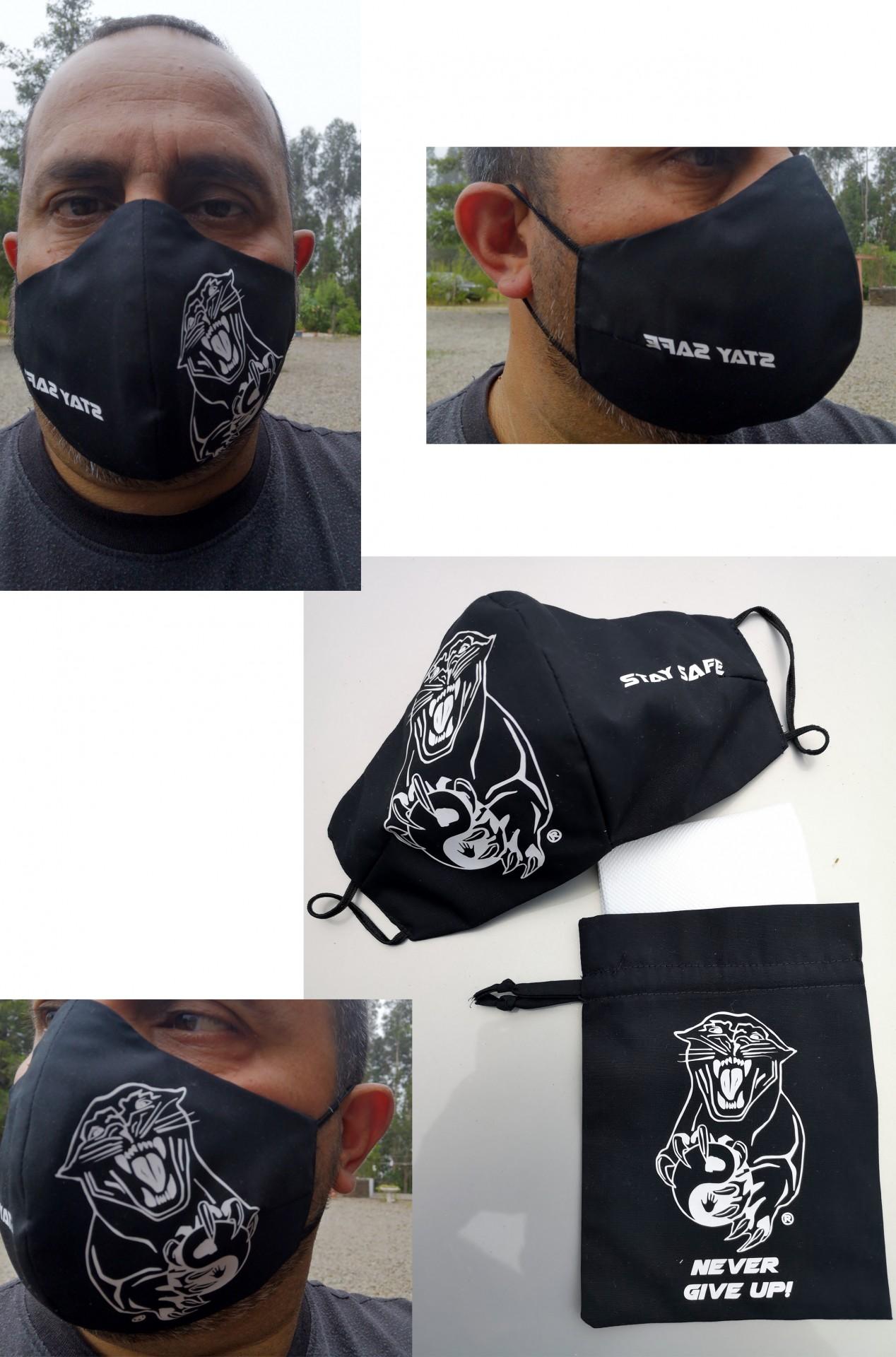 Mascaras  ACDS Black com filtros e saco