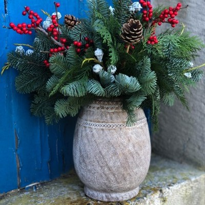 Vaso Terracota Natal