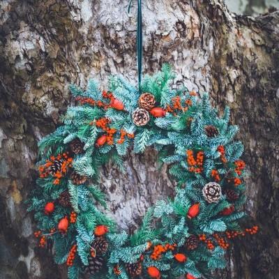 Coroa de Natal Clássica