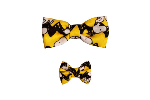 Laço Charlie Brown Yellow Oficial Snoopy