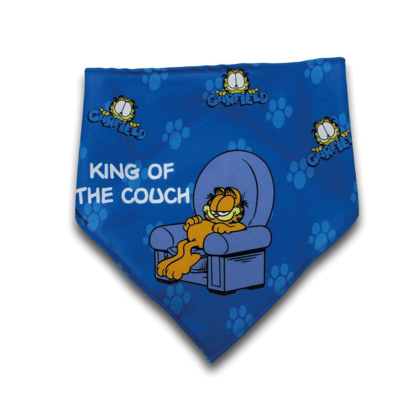 Lenço oficial Garfield King of the Couch Personalizável