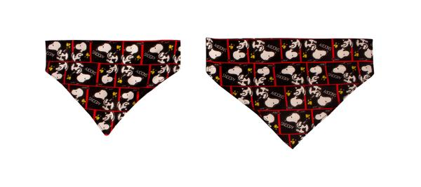 Bandana Film Black Oficial Snoopy