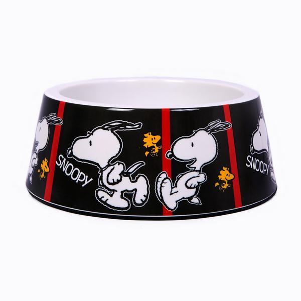 Taça em Melamina Film Black Oficial Snoopy