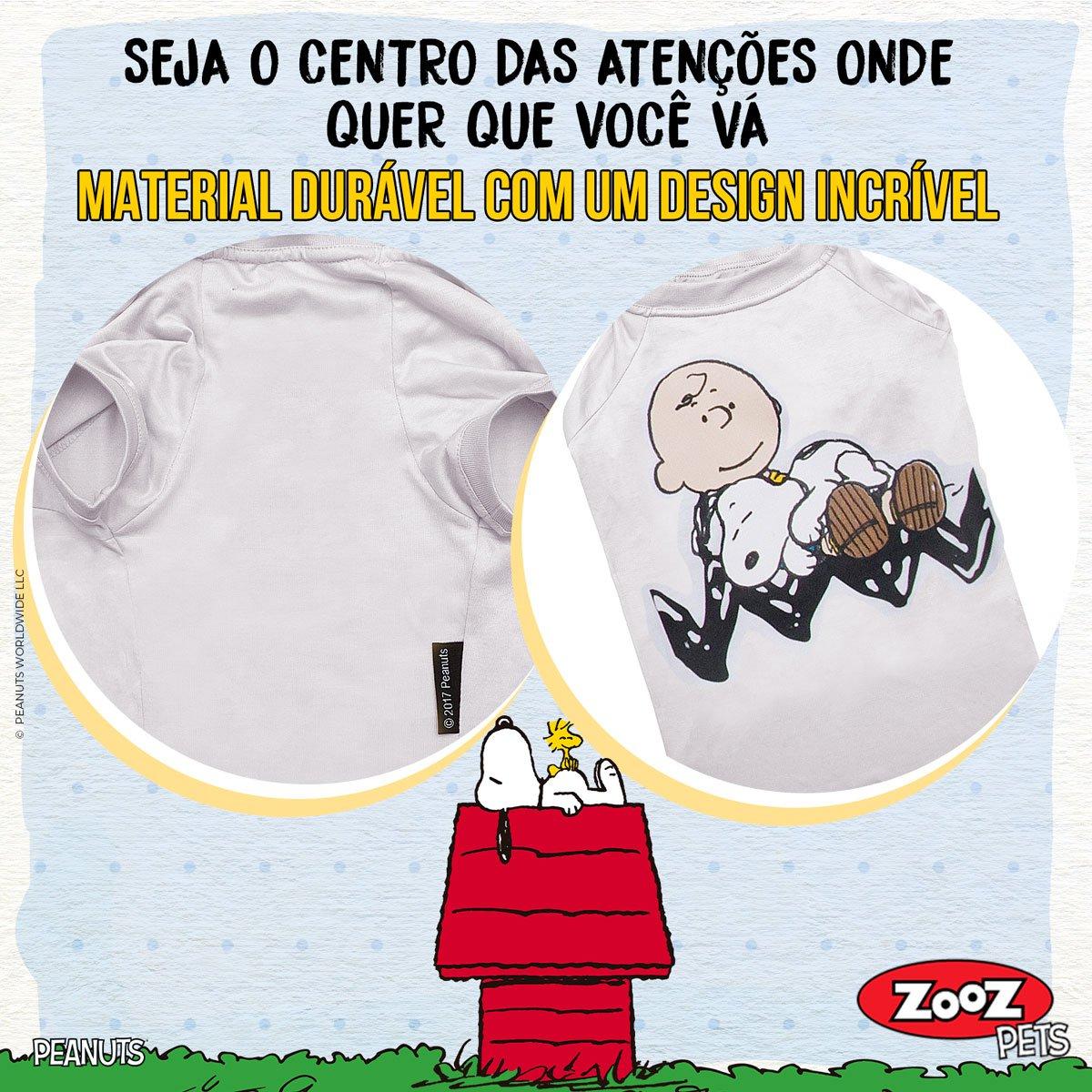 T-shirts Oficiais Snoopy