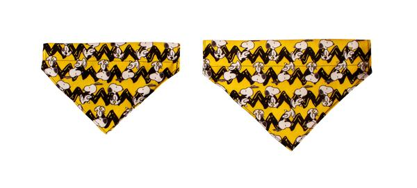 Bandana Charlie Brown Yellow Oficial Snoopy