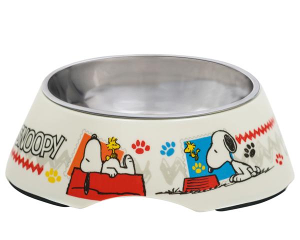 Taça em Melamina e Inox Woodstock Oficial Snoopy