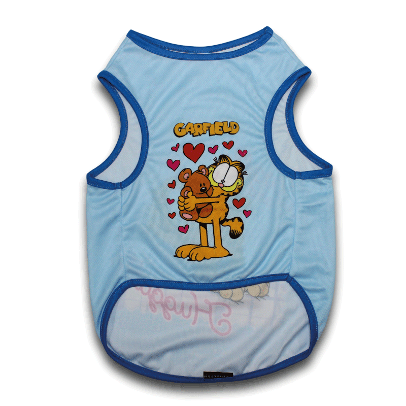 T-shirt oficial Garfield Lovable and Huggable Personalizável