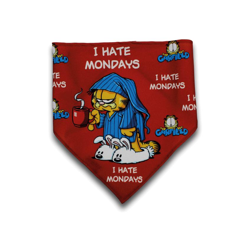 Lenço oficial Garfield I Hate Mondays Personalizável