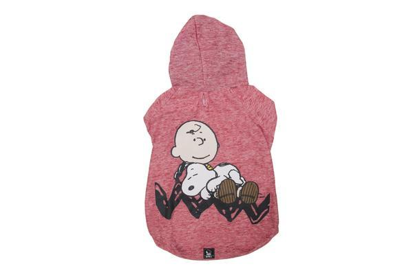 Hoodie Charlie Brown Sleeping Red Oficial Snoopy