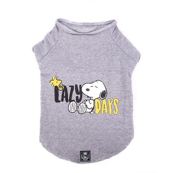 Sweatshirt Lazy Days Grey Oficial Snoopy