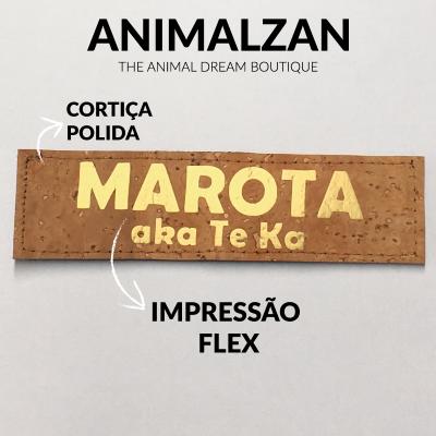 Etiquetas em cortiça personalizadas para Julius-K9 ou acessórios similares