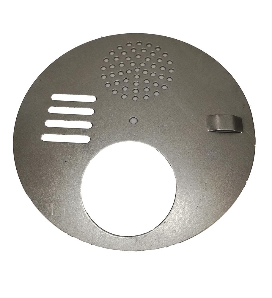 Disco regulador de entrada em inox 12,5cm