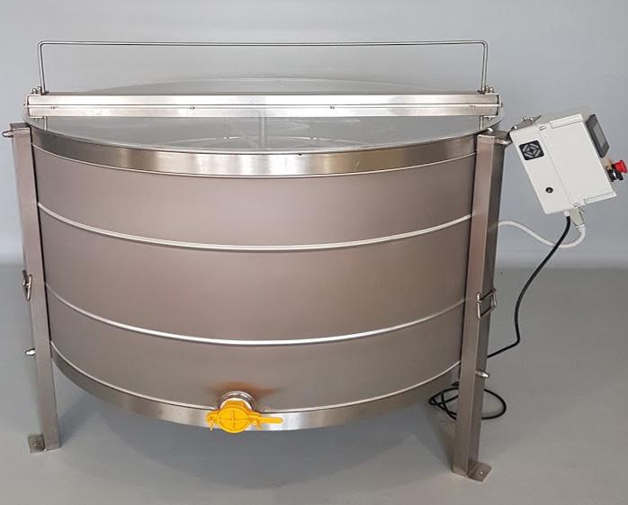 Extractor Inox Eléctrico Reversível Universal 4 quadros