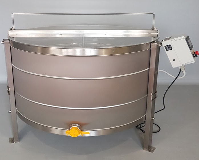 Extractor Inox Eléctrico Reversível 4 quadros Langstroth