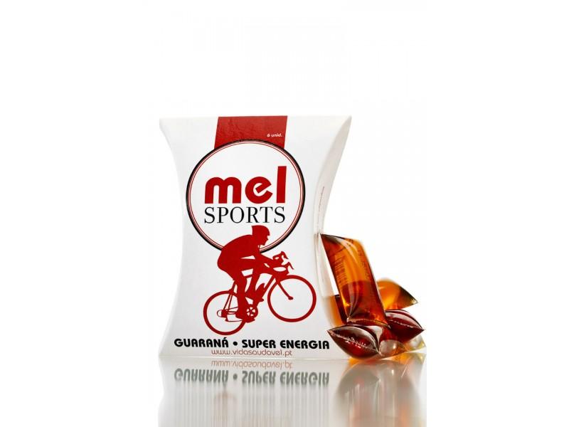 Mel Sports Guaraná - Pack 6 Uni
