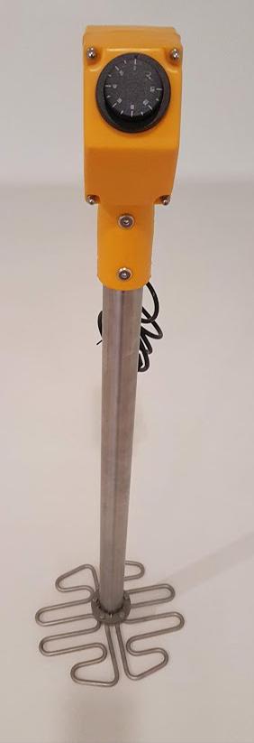 Descristalizador Mel Aço Inox Eléctrico 800x280mm