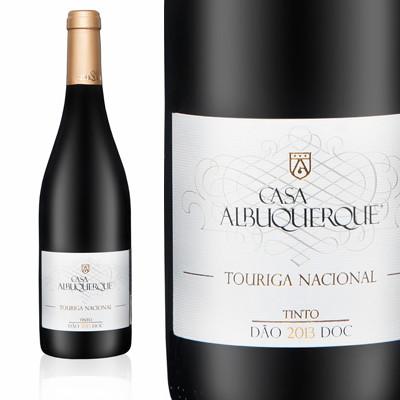 Vinho Tinto Touriga Nacional - Casa Albuquerque - Dão