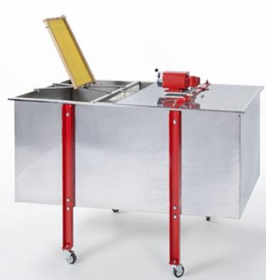 Combinado Inox Extractor + Tina Eléctrico 12 1/2 quadros