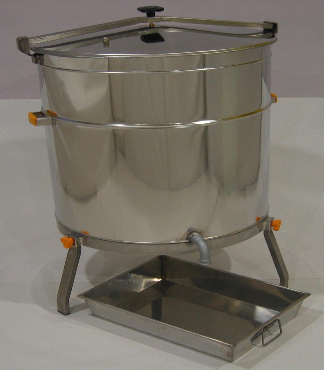 Caldeira Aço Inox a Gás para Cera 300/400lt