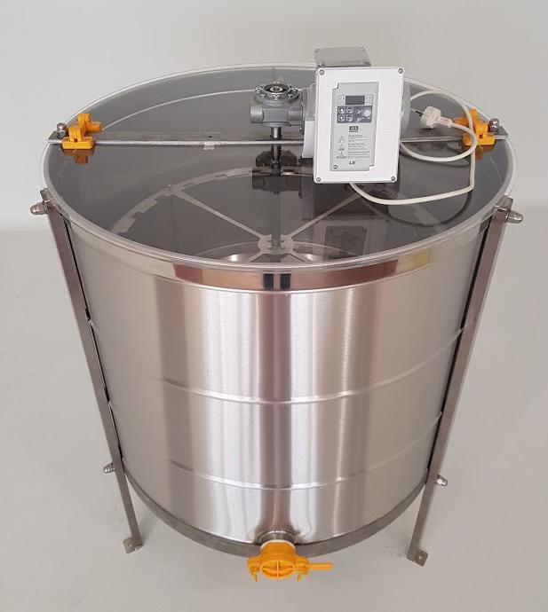 Extractor Inox Eléctrico Radial 28 1/2 quadros Reforçado